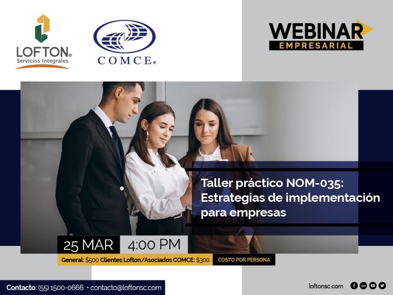 WebinarCOMCE-taller nom-035
