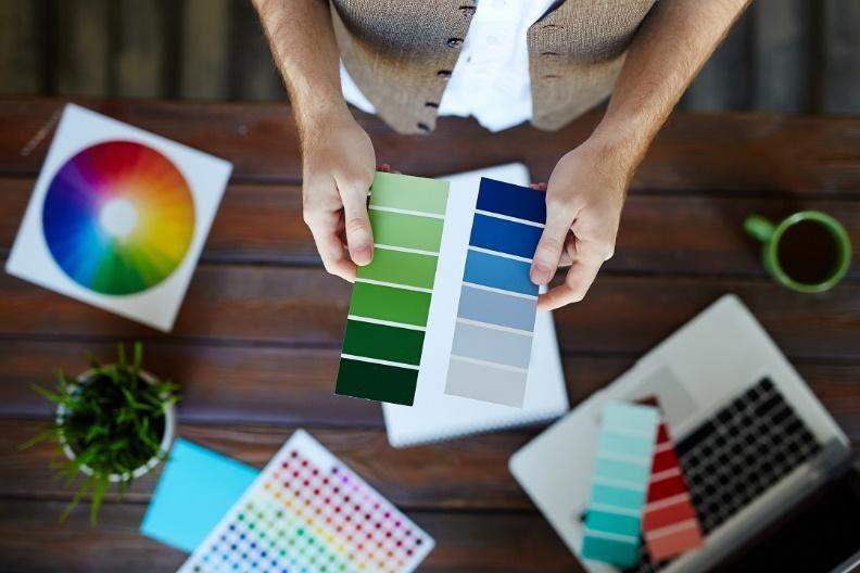 Selección de paleta de colores